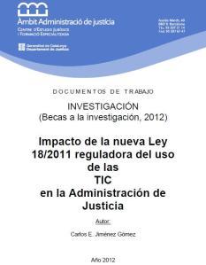 Recerca TIC Justicia